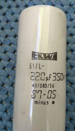 Kondensatory elektrolityczne 220uF 350V ELWA