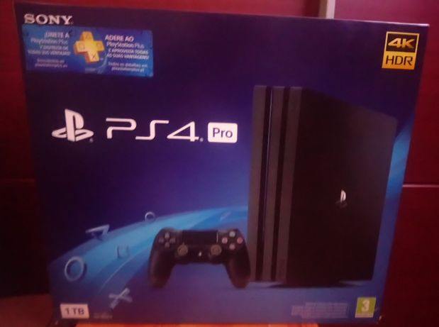Troco PS4 Pro com 2TB