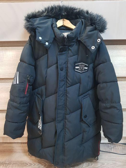 Продам зимний пуховик для мальчика Никополь - изображение 1