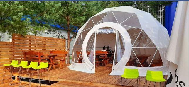 Namiot kopuła geodezyjna 6m nowy