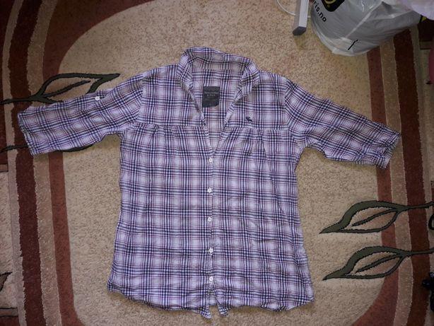 Abercrombie& Fitch damska fioletowa zwiewn koszula r. L