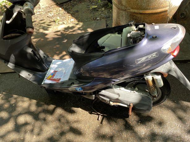 Разборка Yamaha Jog SA16 рама с доками двигатель