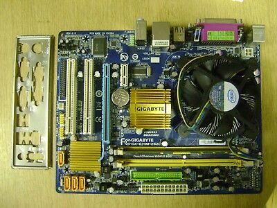Płyta główna Gigabyte z procesorem Intel CORE 2 E8200 2x2,66Ghz +box