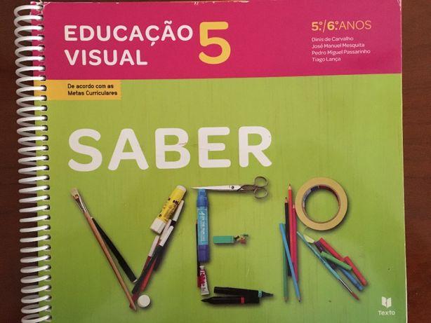 Educação Visual - Saber Ver - 5º e 6º anos - Manual aluno