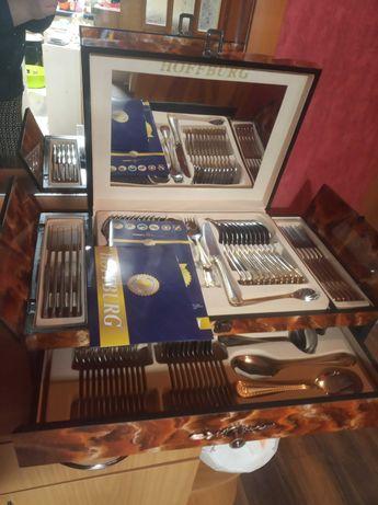 Набор столовый ложек, вилочек, ножей