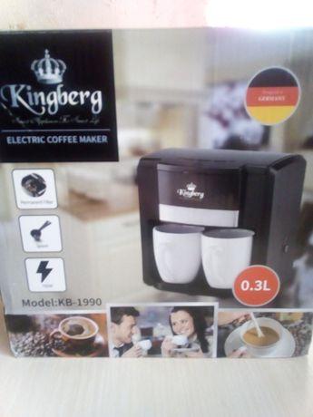 Продам кофеварку Kingberg