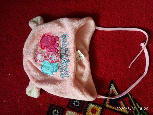 Продам осінньо-весняну утеплену шапочку