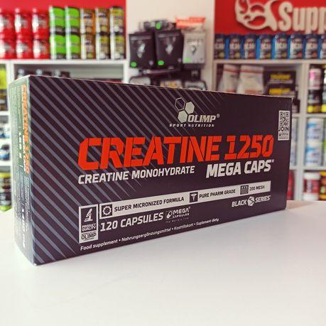 OLIMP Creatine 1250 Mega Caps 120kaps Kreatyna Monohydrat, Odżywki