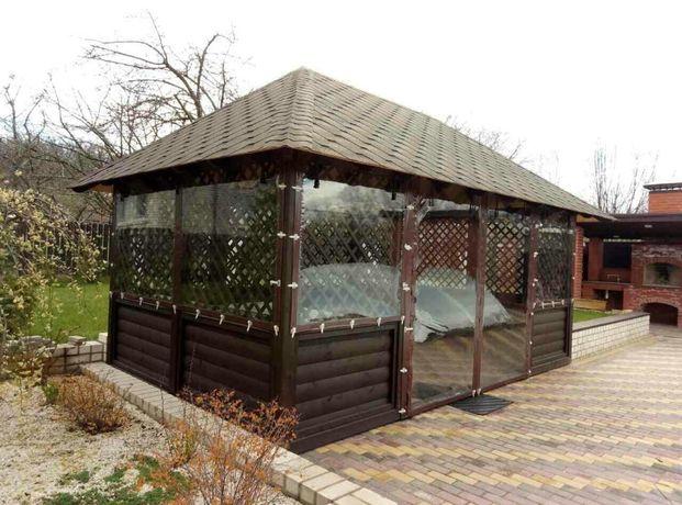 Мягкие окна, шторы ПВХ, прозрачные шторы