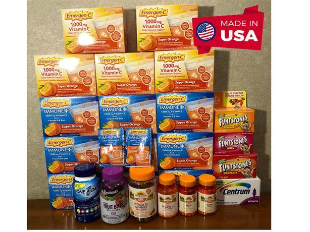 Витамин С 1000 мг, Emergen C, Vitamin C , Вітаміни США , USA