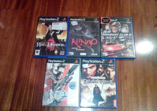 Jogos variados Playstation 2 PS2
