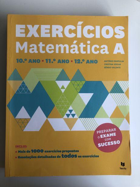 Exercícios Matemática A