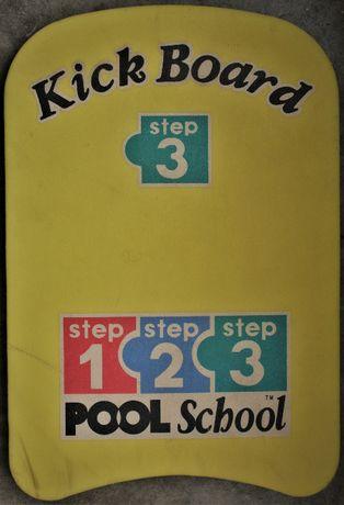 Prancha de Natação Pool School, como nova