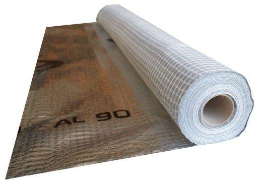 Folia paroizolacyjna aluminiowa  STROTEX AL90 75m2 90g/m2