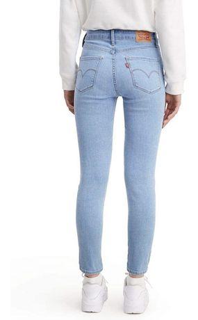 Levis 721 30 31 32 джинси джинсы на высокой посадке синие 720 711 710