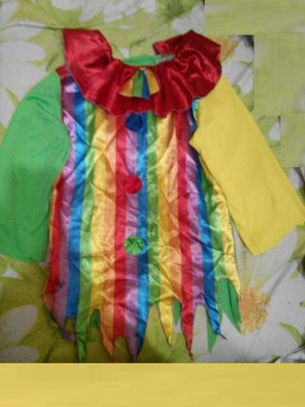 Карнавальный костюм Клоун для девочки 11 - 12 лет