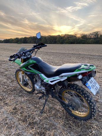 Обменяю на Евробляху  кроссовый мотоцикл senke 250