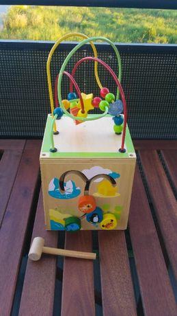 Kostka edukacyjna drewniana ToysRus