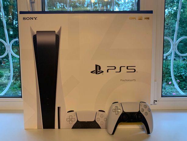 Sony PlayStation 5 (официальная, новая, запечатанная с гарантией)  PS5