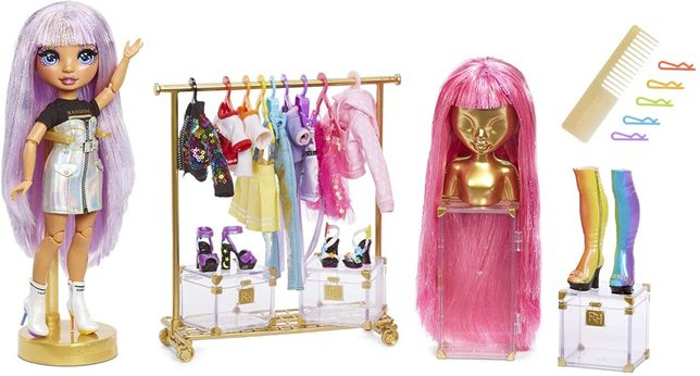 Модная Студия Rainbow High Моды Surprise Fashion Studio Avery Styles