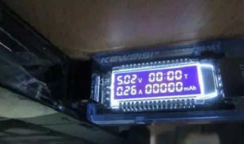 USB тестер тока 4-20 V напряжения потребляемой энергии KEWEISI