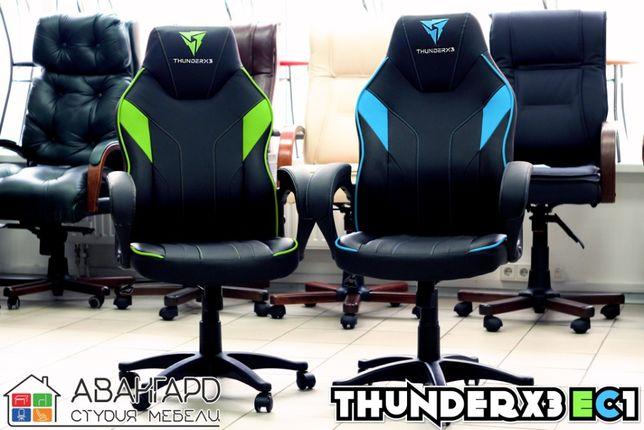"""Геймерское / компьютерное / игровое кресло из экокожи """"ThunderX3 EC1"""""""