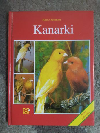 książka Kanarki Heinz Schnoor