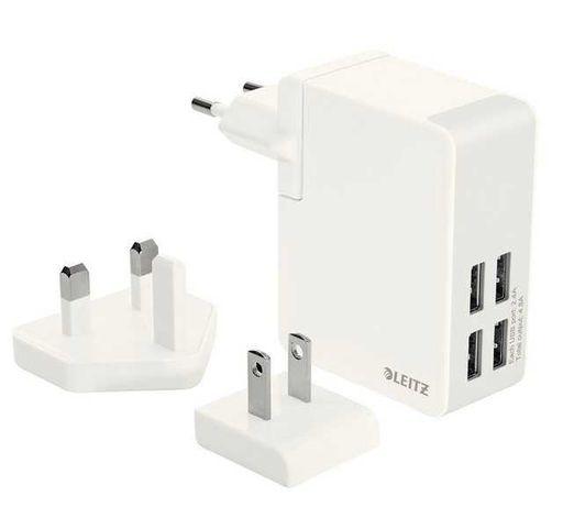 Ładowarka sieciowa LEITZ COMPLETE Z 2 portami USB