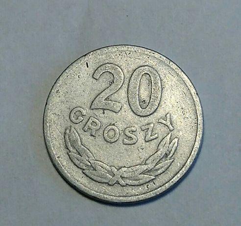 Moneta 20 gr z 1949r.