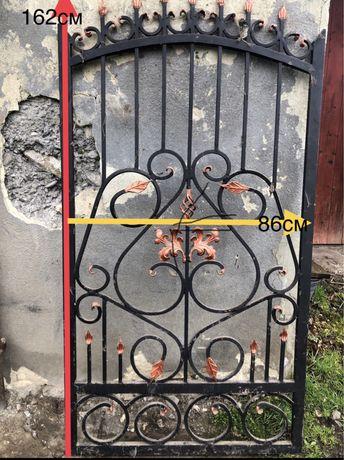 Ковані забор і ворота