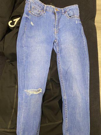 spodnie jeansy bershka rozmiar 36