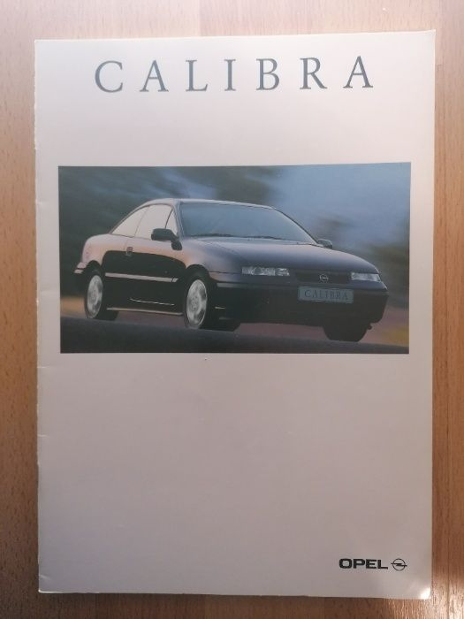 Prospekt OPEL CALIBRA 2.016V 2.5 V6 Young Last Edition. Jawiszowice - image 1