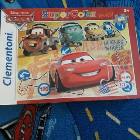 Puzzle zygzak cars