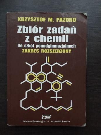 Zbiór zadań z chemii Pazdro zakres rozszerzony