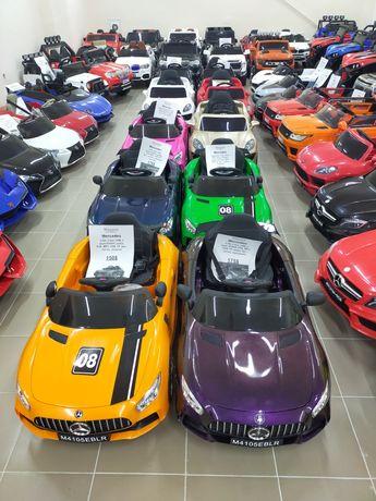 Детская машина электромобиль, более 70 моделей, все в наличии!
