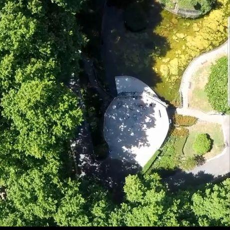 Imagens aérias com Drone