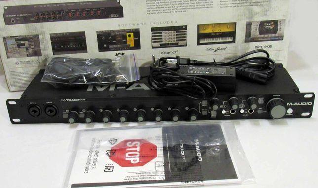 Звуковая карта M-Audio M-Track Eight аудио интерфейс