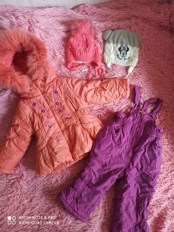 Зимний комбинезон, полукомбинезон и куртка Kiko
