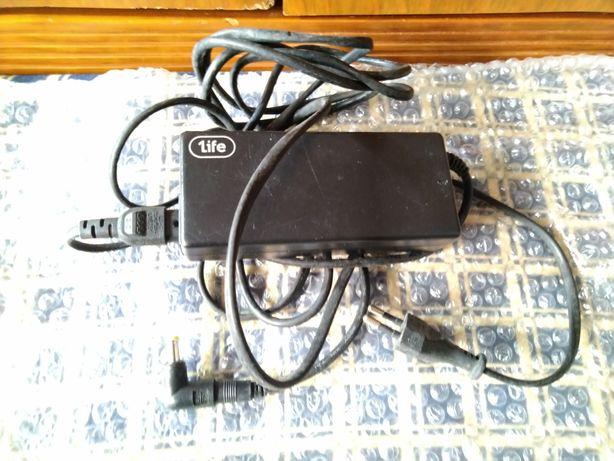 Carregador portátil Universal Toshiba Acer Asus HP 90W 1Life 19v 19,5v