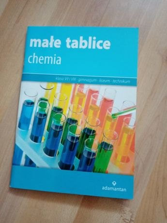 Małe tablice chemia