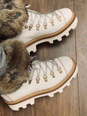 Ботинки, натуральная кожа,  бренда Barracuda, оригинал Италия