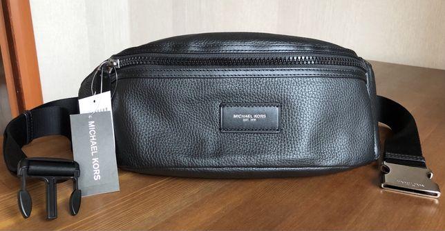Michael Kors, HIP BAG UNISEX, 100% оригинальная кожаная сумочка