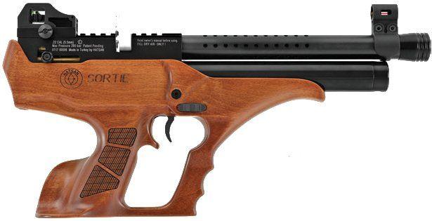Wiatrówka pistolet PCP Hatsan SemiAutoAction (SORTIE-W) + zestaw kalib Stęszew - image 1