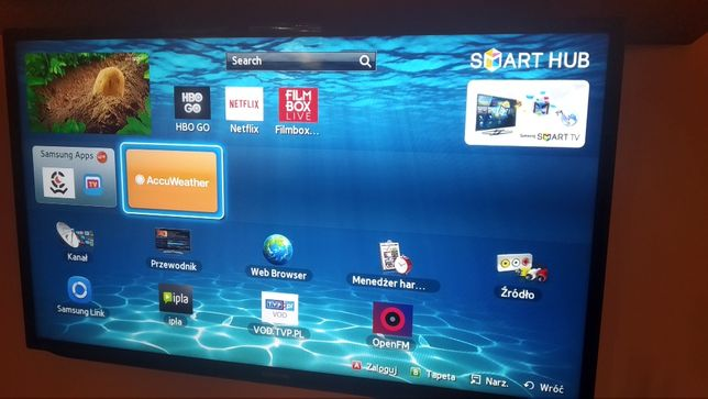 !!! Samsung 40EH5300 LED TV 100HZ FULL HD SMART 100%Sprawny !!!