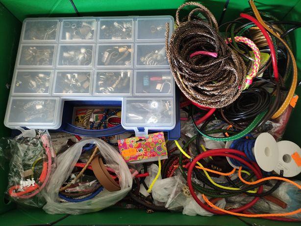 Material para pulseiras e colares