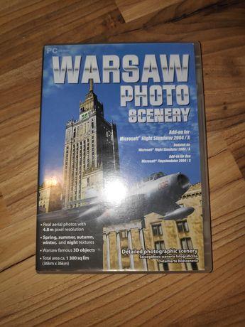 WARSAW PHOTO SCENERY dodatek do Flight Simulator 2004/X
