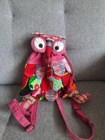 Sowa plecak maly plecaczek dla dziewczynki