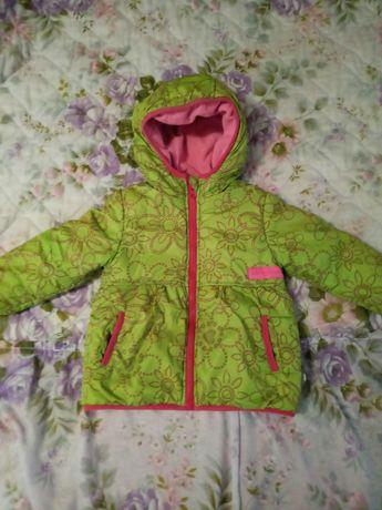 Курточка, тёплая куртка для девочки.