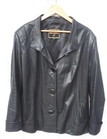 Кожаный пиджак, куртка, жакет большого размера