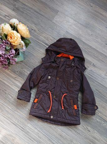 Крутая куртка деми на мальчика р.98, куртка парка